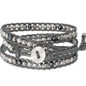Premier Designs It's A Wrap Bracelet Black